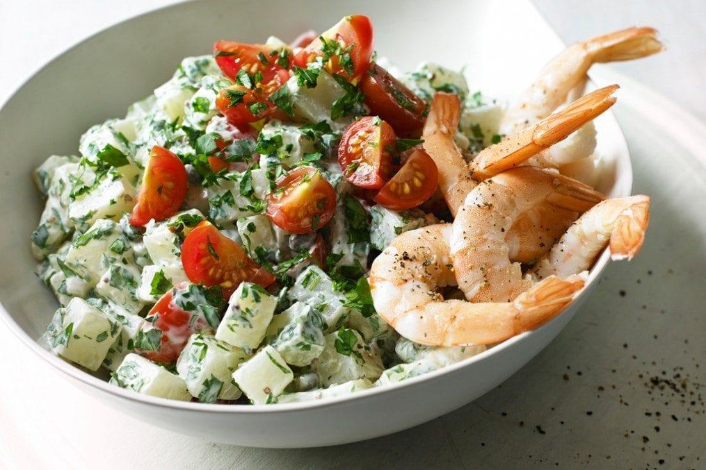 Low-carb Potato Salad
