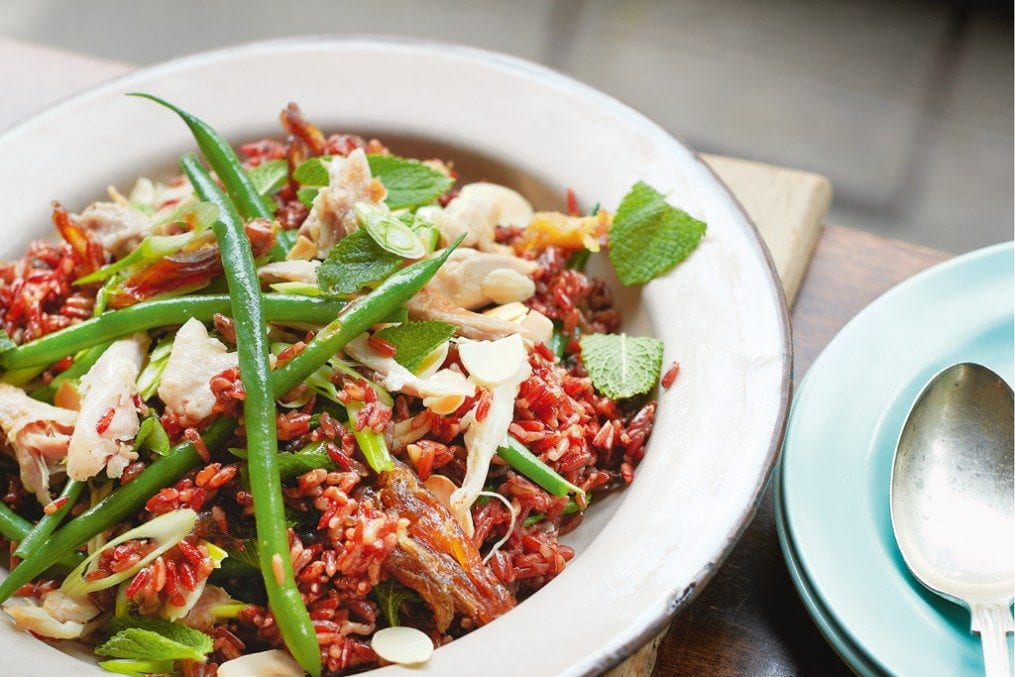 Warm Red Rice and Chicken Recipe