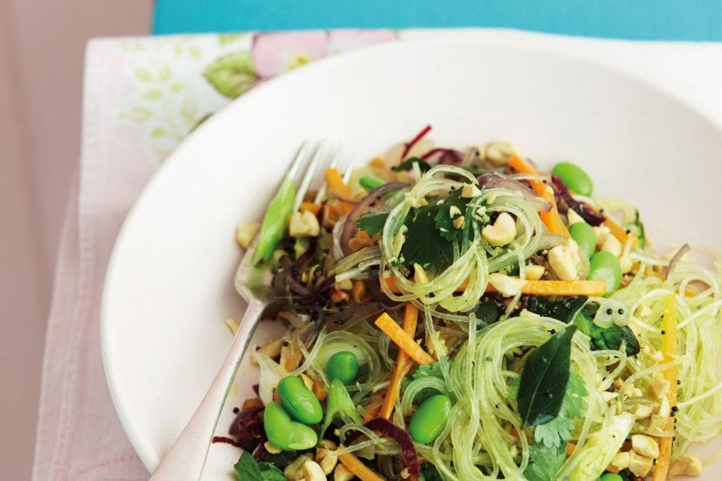 Stir-Fried Spring Veg Vermicelli