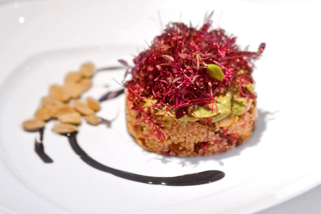 Vegan Recipes Quinoa With Beetroot And Romanesco Healthy Healthy