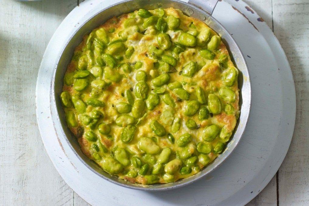 Low-Carb Broad Bean Tortilla