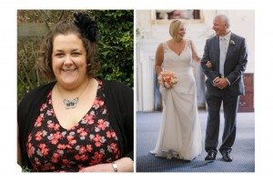 Real life weight loss: 'I lost 4st 6lbs for my wedding'