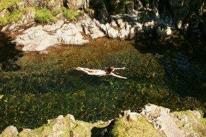 How do I do...wild swimming?