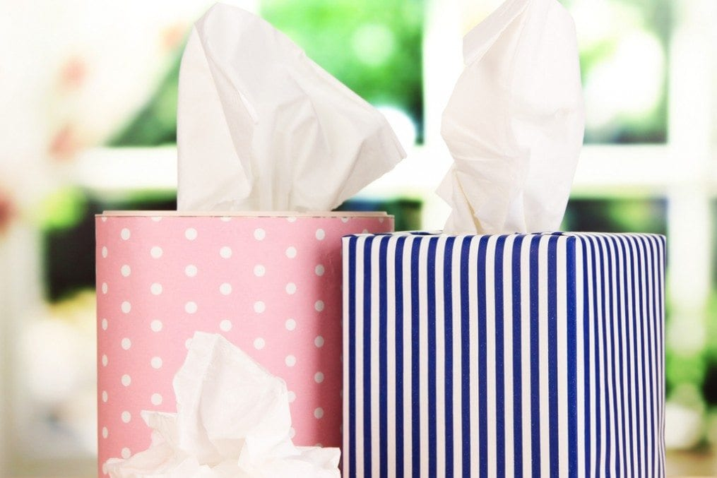 Boxes of tissue