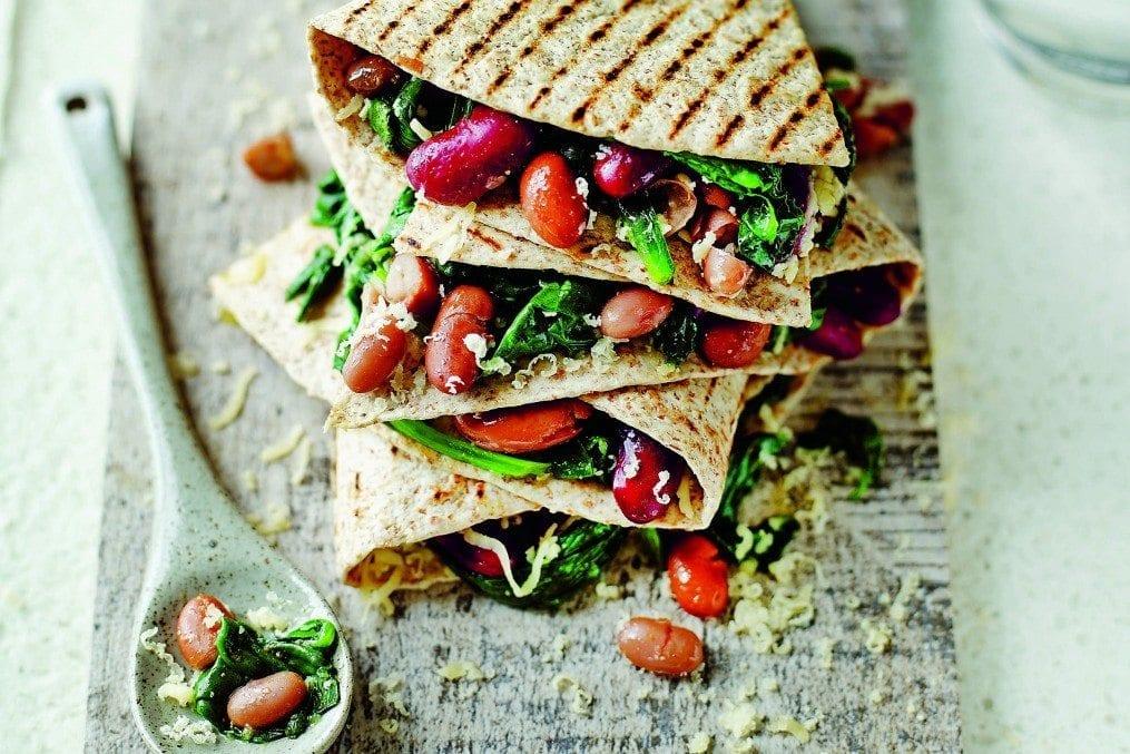 Healthy Bean Quesadilla