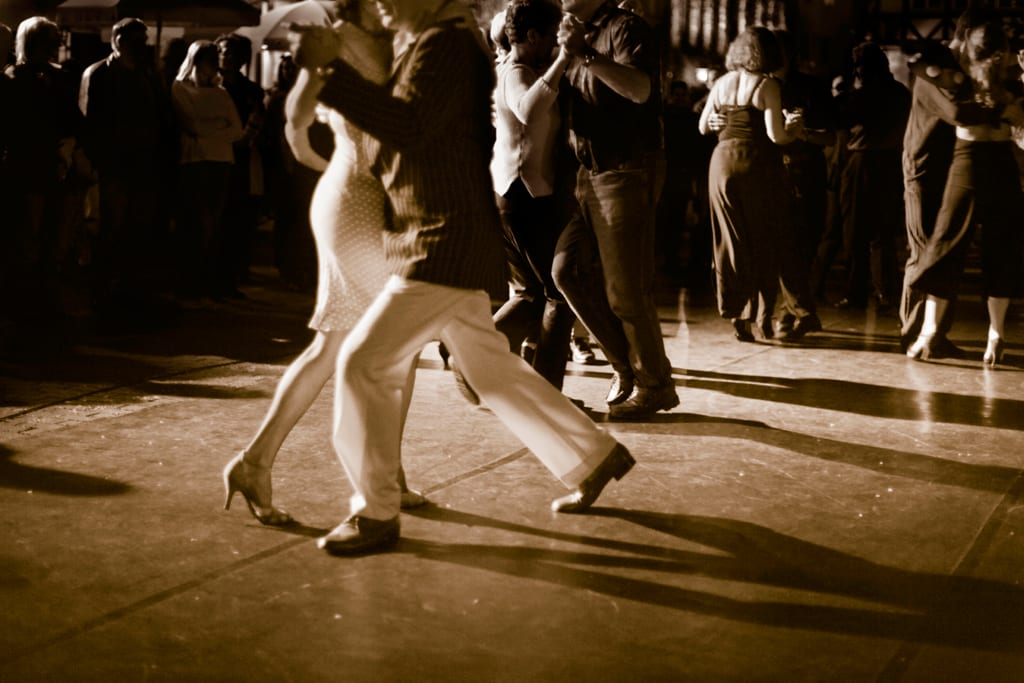 Five reasons to pull on those dancing shoes