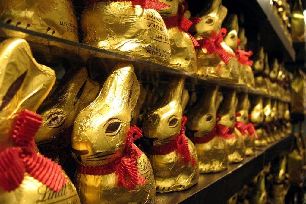 Lindt Golden Easter Bunnies