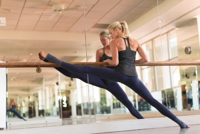Get toned for summer with these 5 ballet barre moves