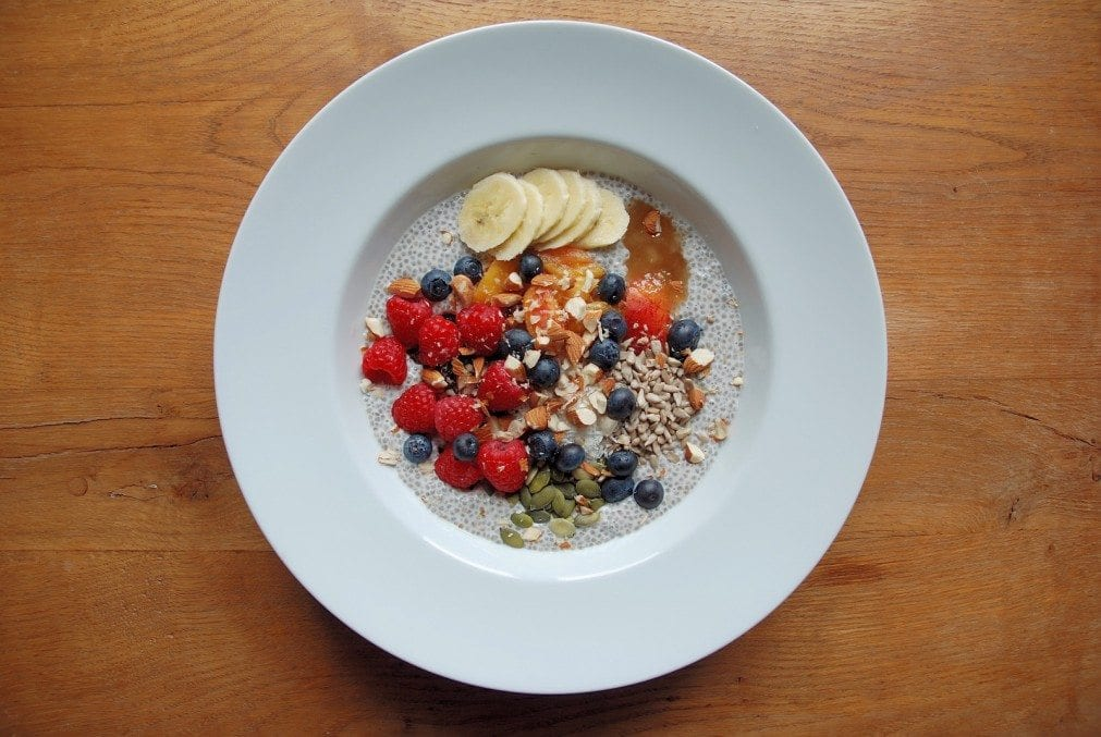 Almond and Chia Porridge