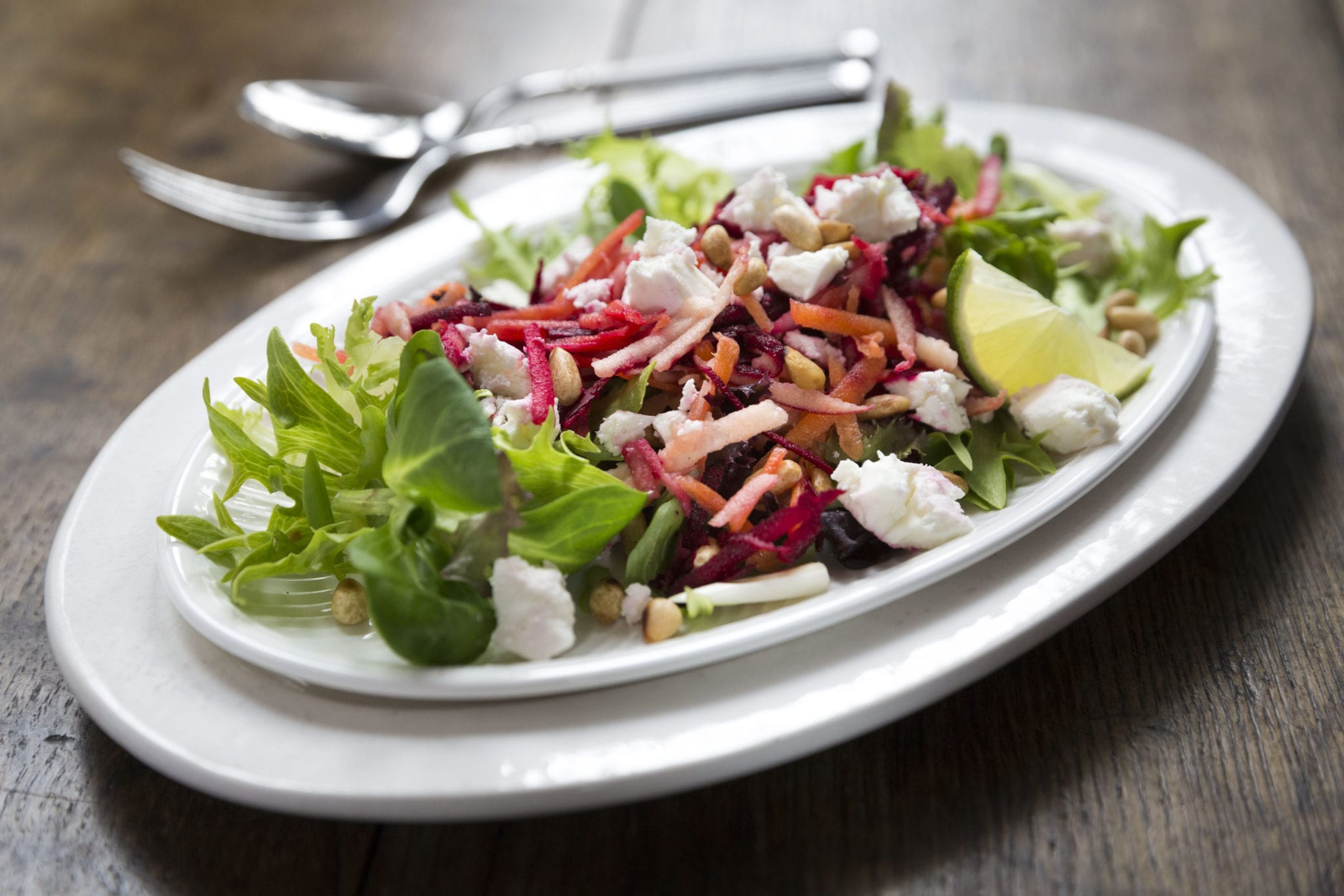 Beetroot and Feta Salad with Tangy Lime Dressing