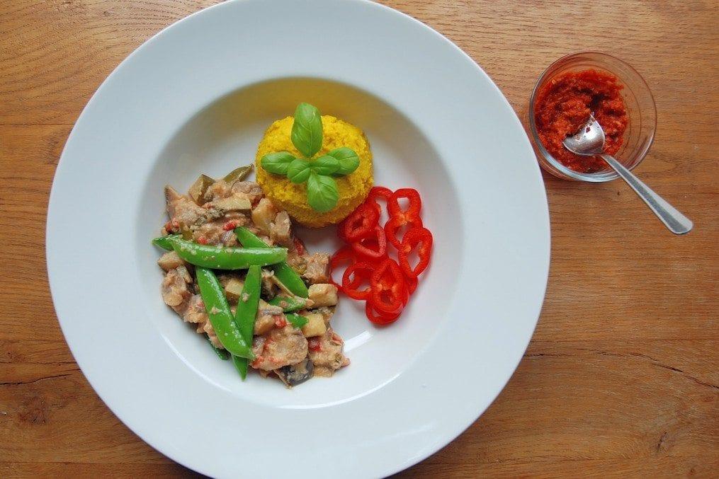 Vegetarian Red Thai Curry