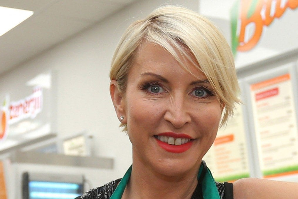 Heather Mills at Holland & Barrett in Chester