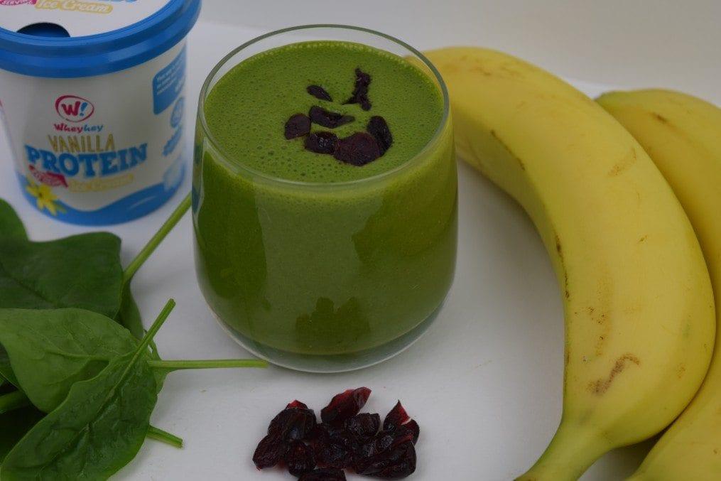 High Protein Green Breakfast Smoothie