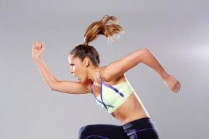 Watch: Amanda Byram on what to eat before a workout