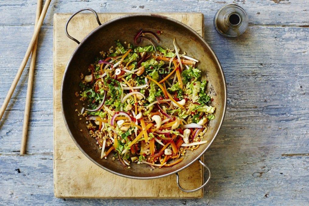 Millet and Cashew Stir-fry Recipe