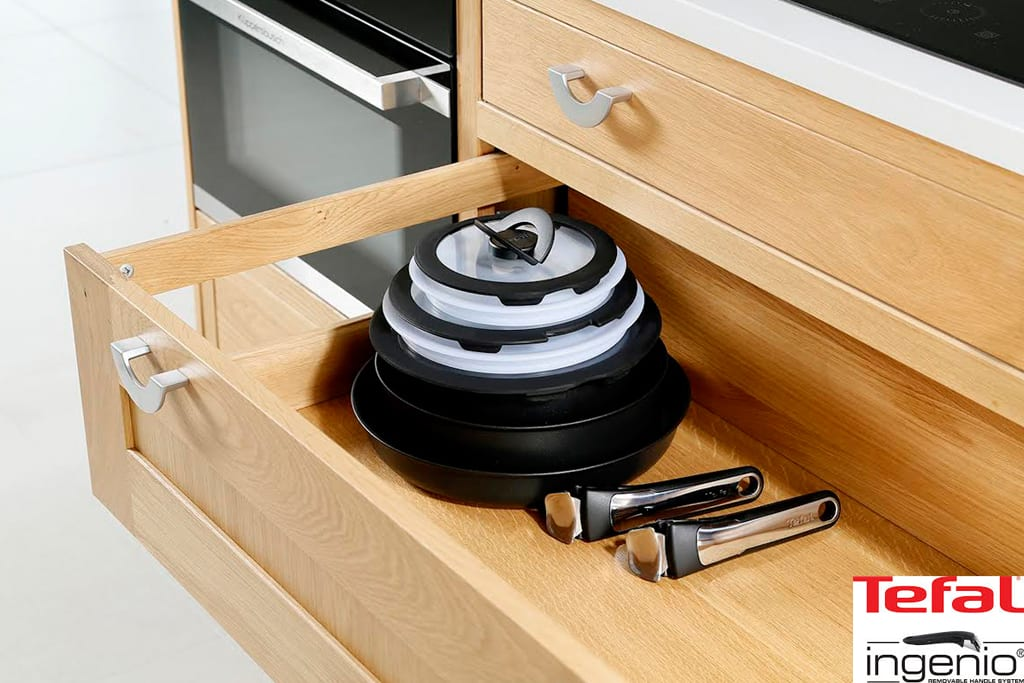 Tefal L03696Ingenio - Batterie de Cuisine Set de Pices Anti