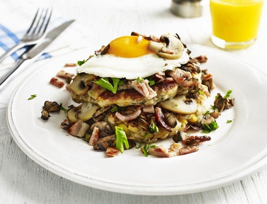 Mushroom breakfast pancakes(1)