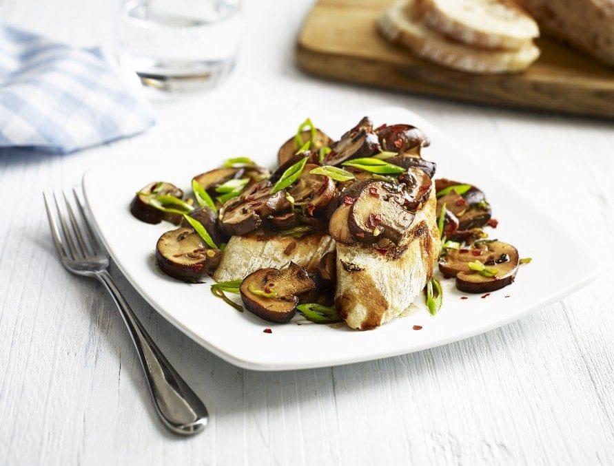 Fern Britton's Mushrooms on Toast