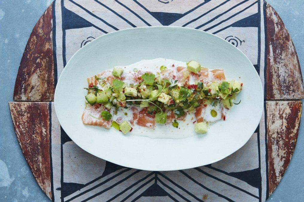 South American Salmon Sashimi