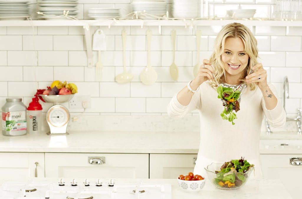 Kimberly Wyatt talks living healthy