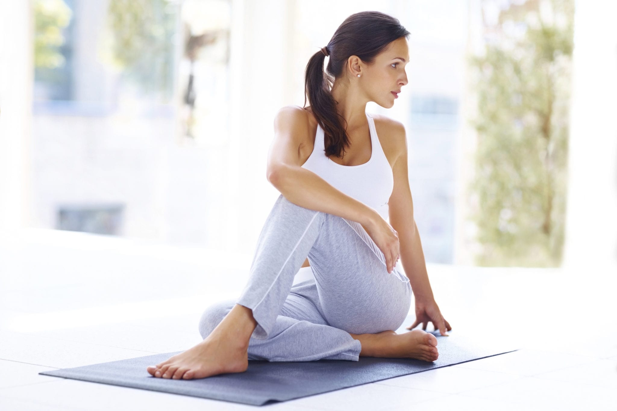 Yoga poses to ease menopause symptoms