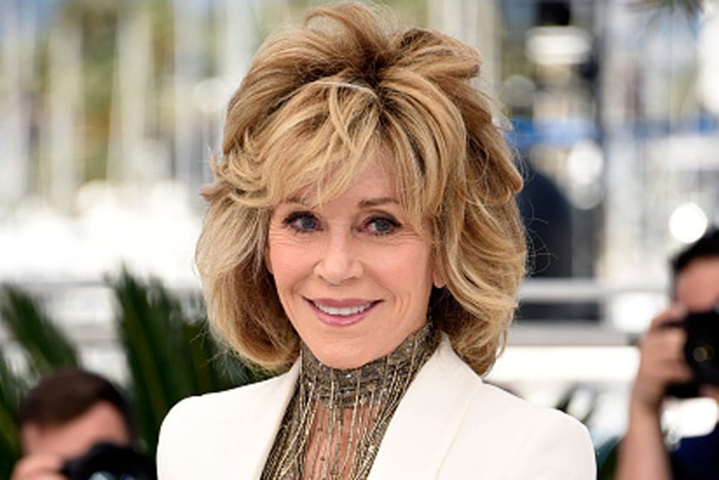 "CANNES, FRANCE - MAY 20: Actress Jane Fonda attends a photocall for ""Youth"" during the 68th annual Cannes Film Festival on May 20, 2015 in Cannes, France. (Photo by Clemens Bilan/WireImage)"