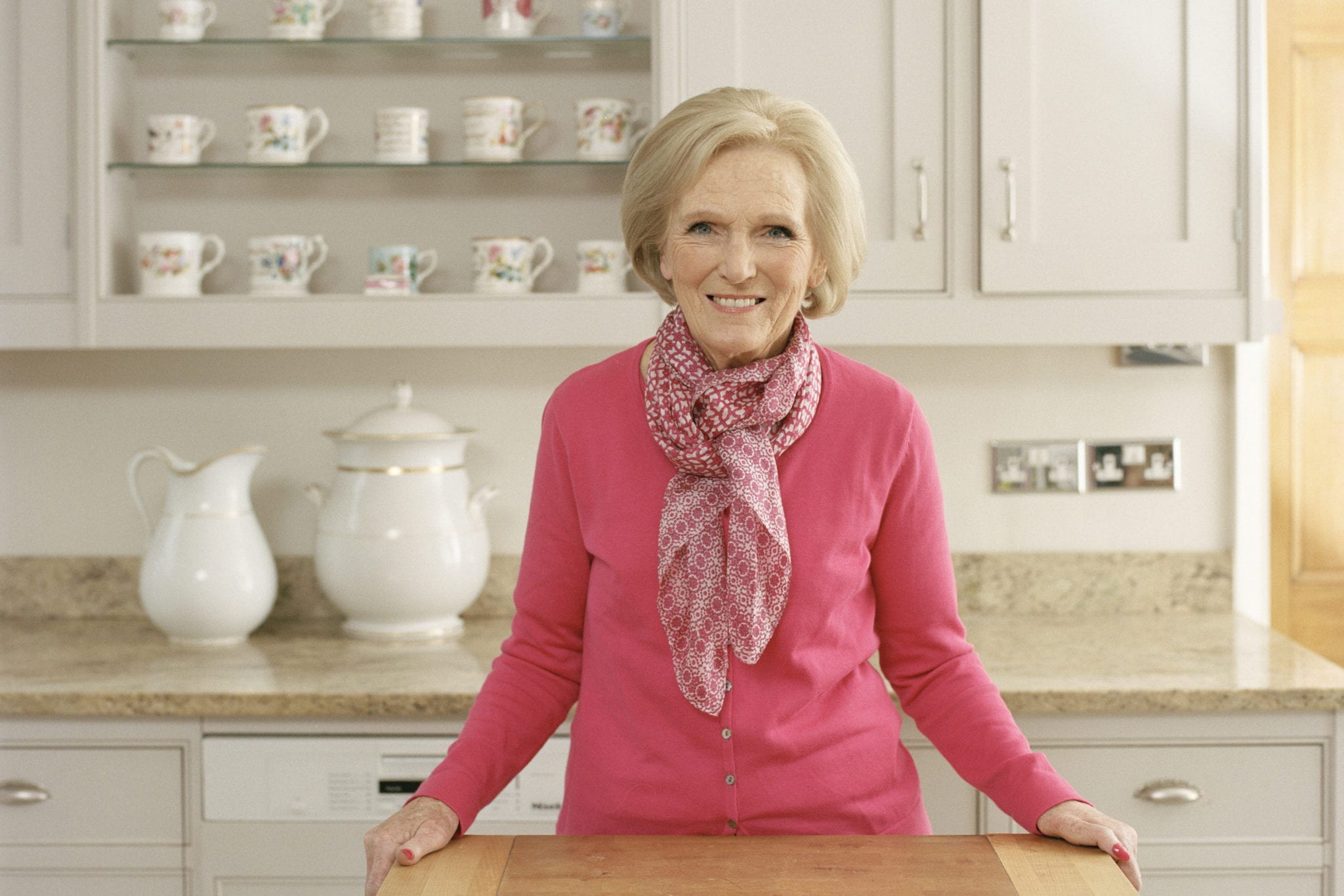 Mary berry interview the great british bake off healthy for Mary berry uk
