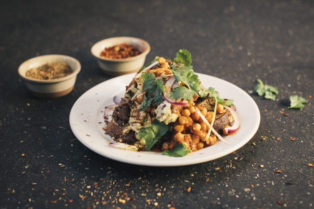 Tom Hunt organic scramble merguez recipe