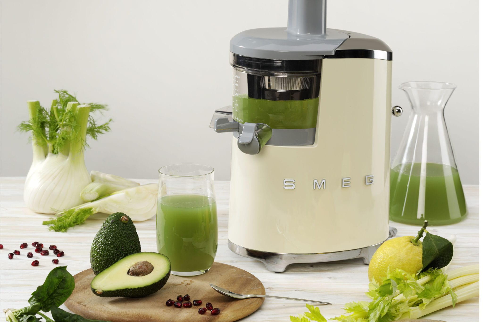 Slow Juicer Recipes from Smeg Healthy