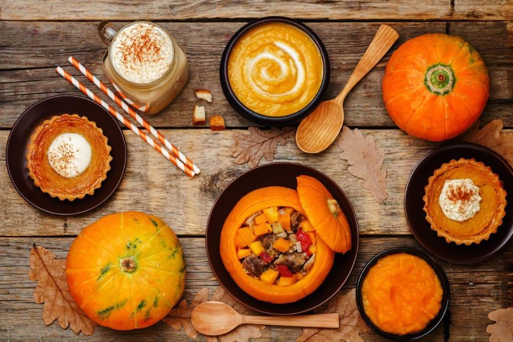 Pumpkin based food