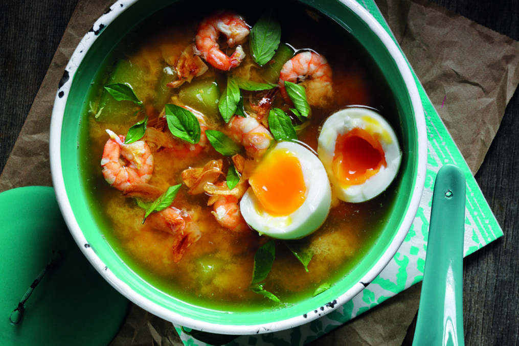 Cucumber and Shrimp Soup