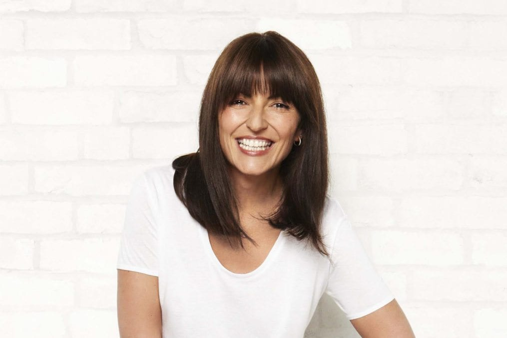 01 Oct 2014 --- Davina McCall --- Image by © Ben Riggott/Corbis Outline