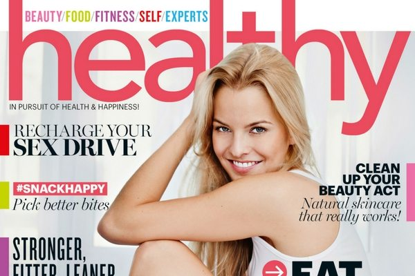 Healthy magazine October/November cover