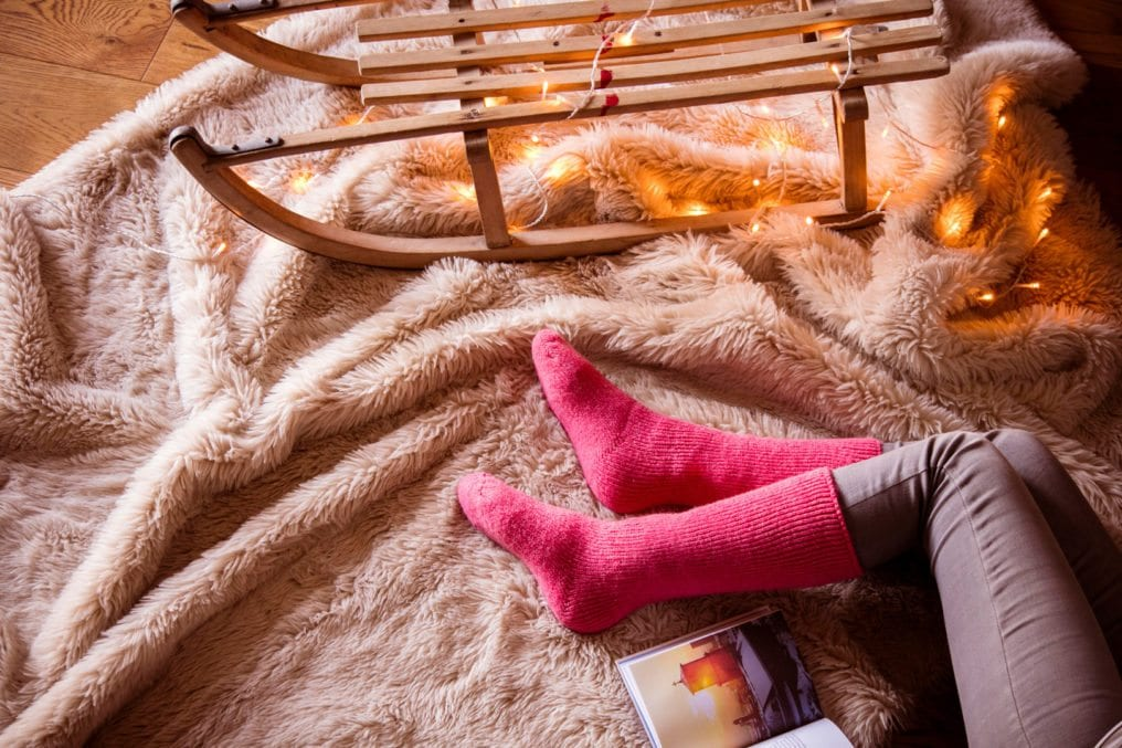 heatholders snuggle up warm winter thermals cosy fire sled