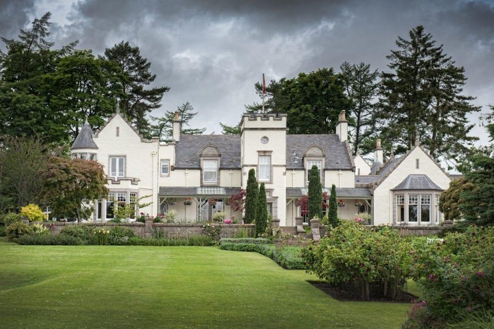 Douneside house mansion historic grass garden white house white mansion