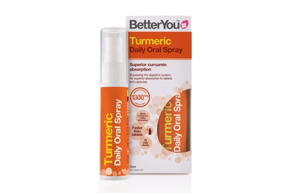 Betteryou oral spray healthy orange packaging