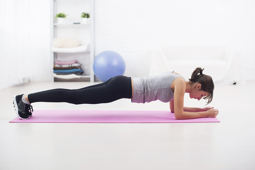 Six plank variations for sculpted abs