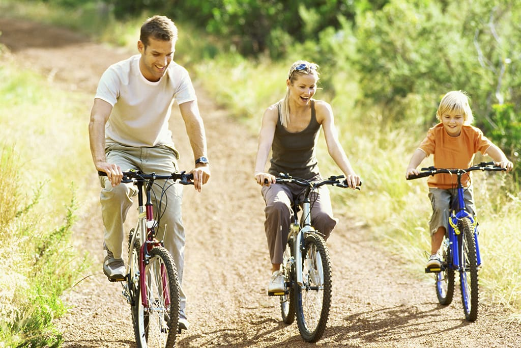 Cycling with a view: 5 scenic family cycle routes