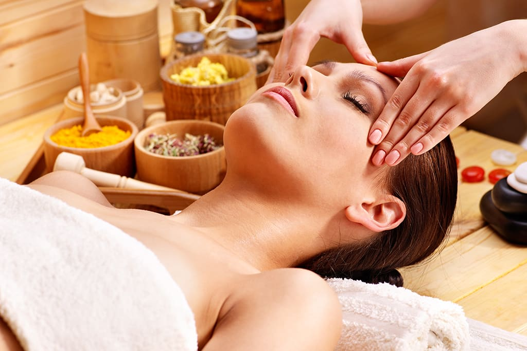 Healthy tries... a holistic facial