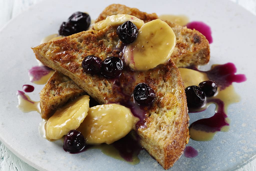 Fibre February: banoffee french toast