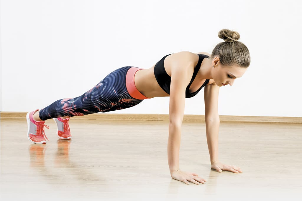 Master the move: plank