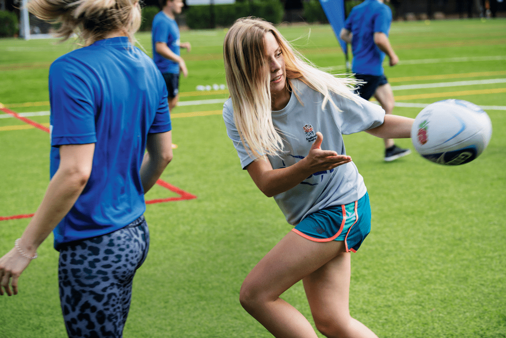 Klassenbrecher: Touch Rugby