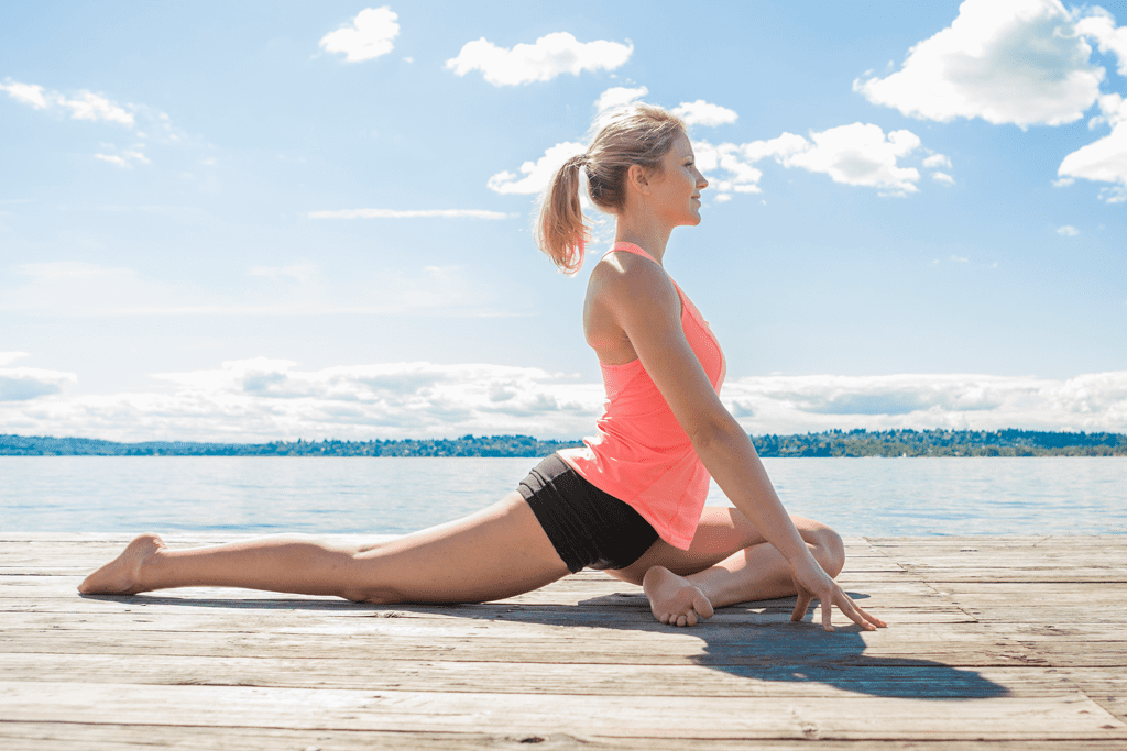 Master the move: pigeon pose