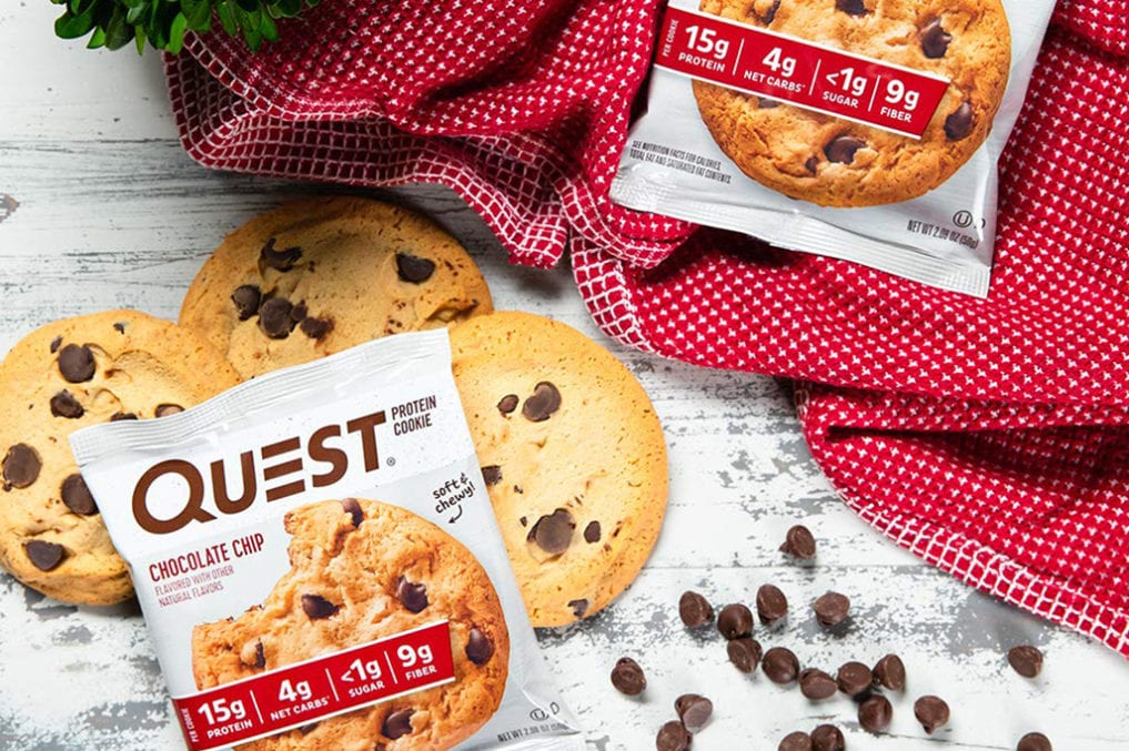Quest chocolate chip protein cookies