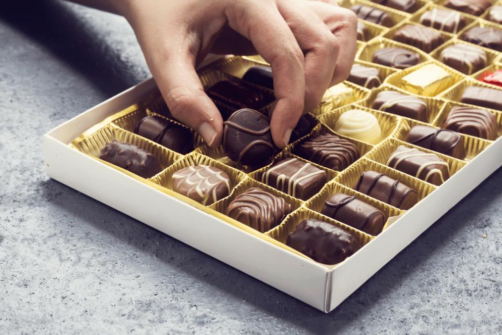 Box of chocolates - cravings