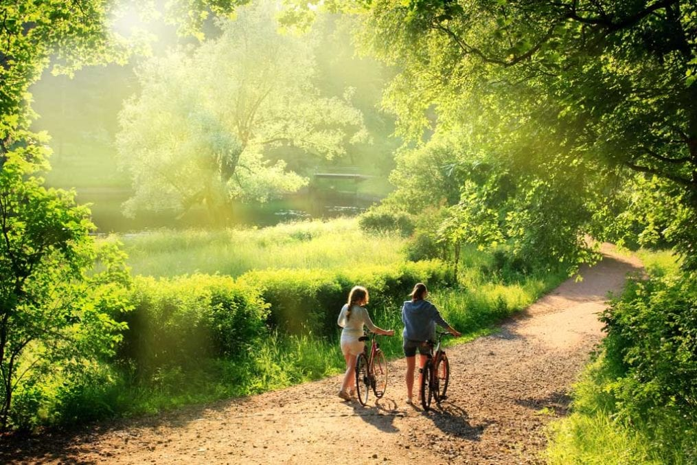 Maximise the wellbeing benefits of getting outdoors