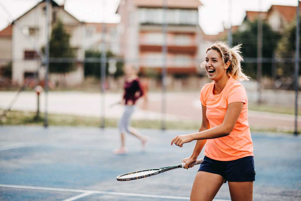 How to get started with tennis
