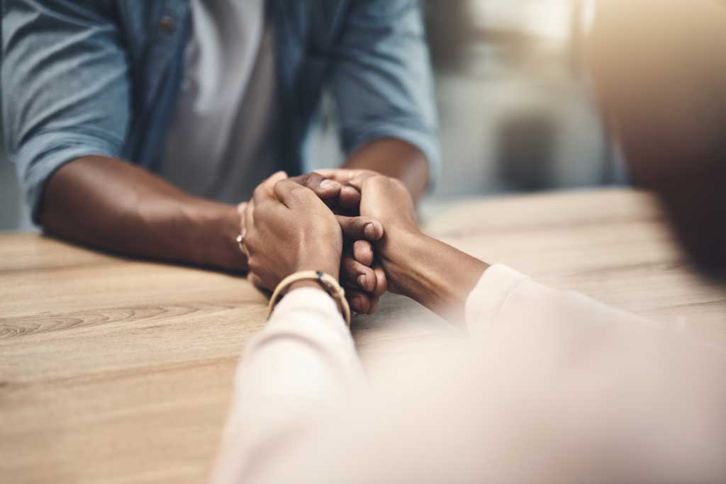 How to help your partner through depression