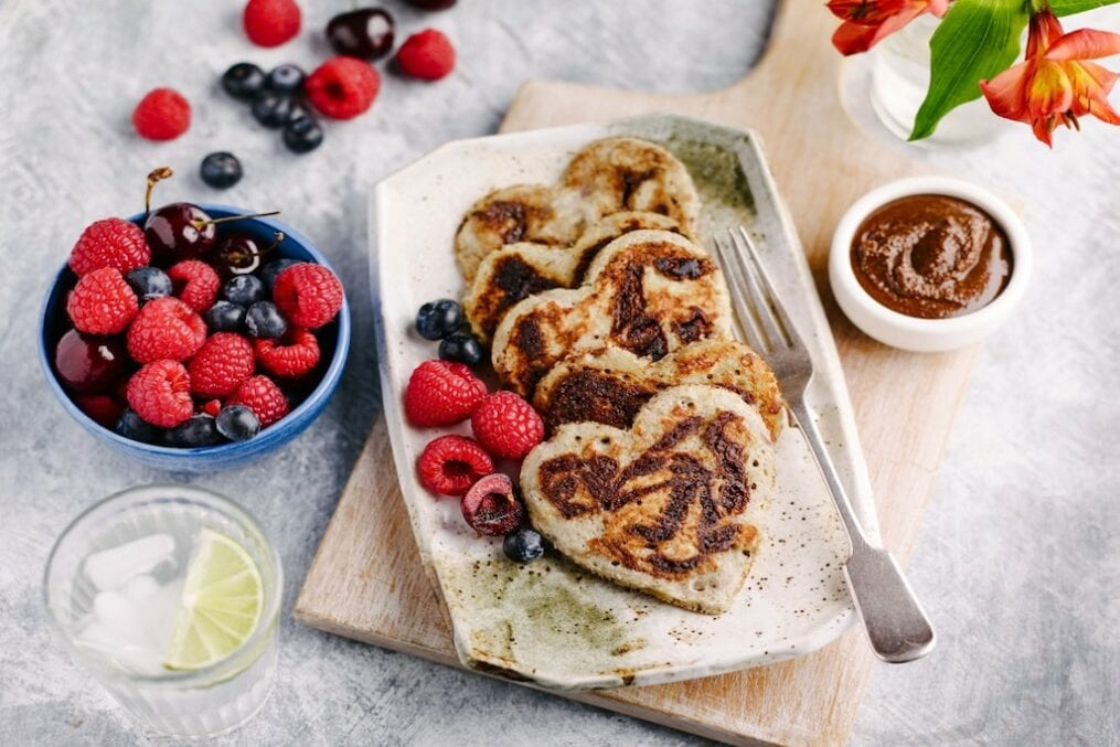 chocolate and banana pancakes recipe